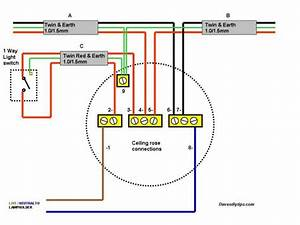 Basic Wiring - Ceiling Light - Page 1 - Homes  Gardens And Diy