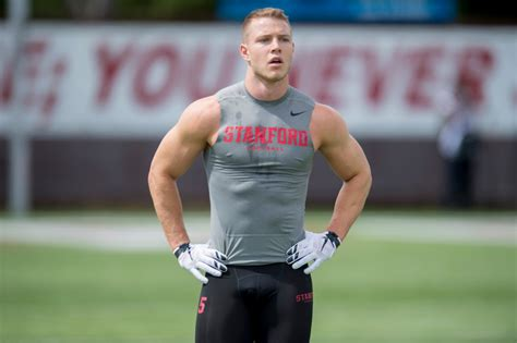 nfl draft christian mccaffrey  potential top  pick