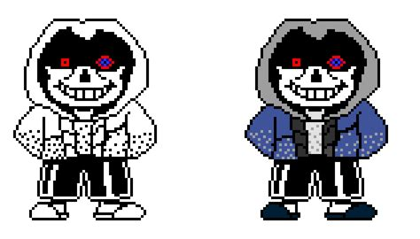 Undertale X Underfell Sans Sprite Pictures To Pin On