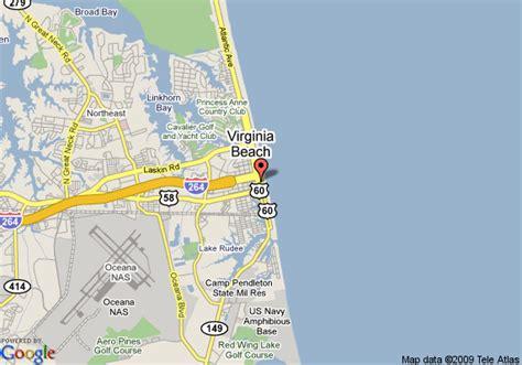 map  virginia beach va travelodge virginia beach