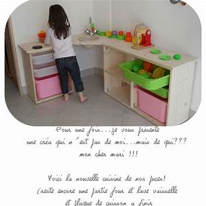 Cuisine Enfant En Bois : cuisine enfant en bois clic pique ~ Teatrodelosmanantiales.com Idées de Décoration