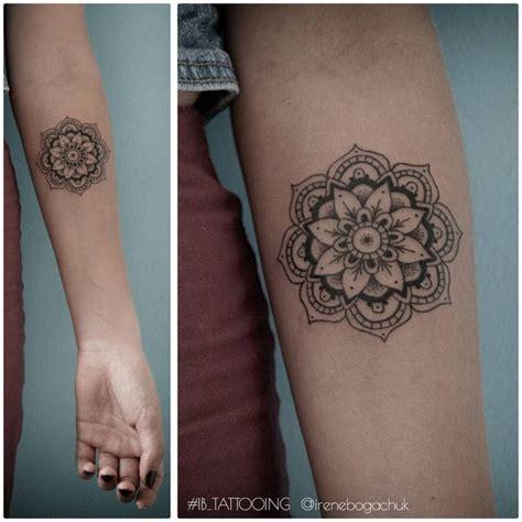 Permalink to Mandala Tattoo On Forearm