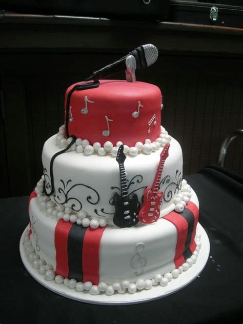 Coolest Birthday Cakes Singer  Birthday Cake Ideas