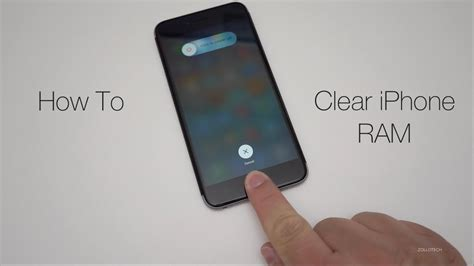 reset ram iphone how to clear iphone ram memory