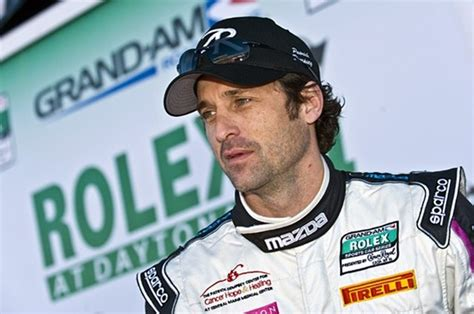 patrick dempsey  quit greys anatomy  racing