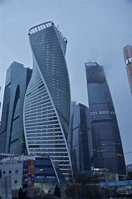 Evolution Tower Moscow Russia