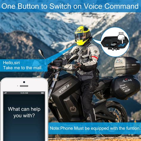 bt interphone motorcycle bluetooth intercom stereo headset helmet 2000m 8 riders ebay
