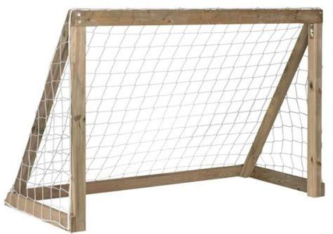 kids wooden football goal match post outdoor garden