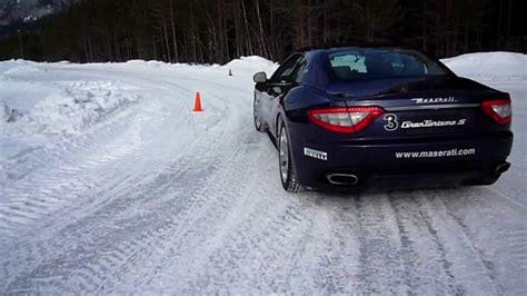 maserati snow vireal maserati snow driving courses cortina youtube