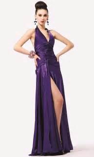 halter dress vestidos largos de morados