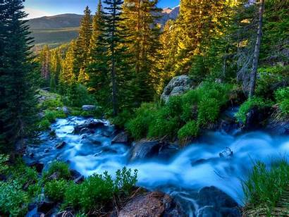 River Peaceful Wallpapers Nature Mountain Mountains Beauty