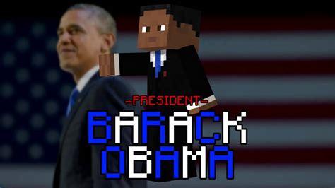 random minecraft skin president barack obama youtube