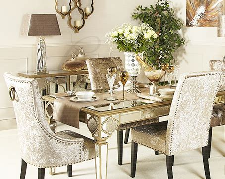 moroccan mirrored dining table