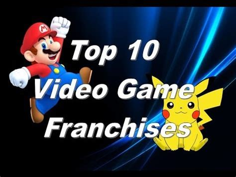 top 10 best selling franchises of all time