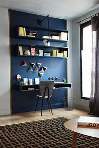22 innovative blue and brown office decorating ideas With brilliant design for home office