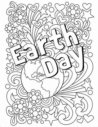 Earth Coloring Projects Pages Printable Sheets April