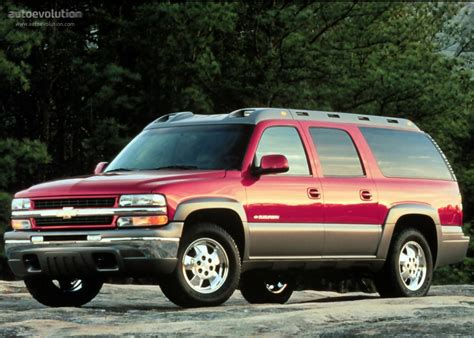 Chevrolet Suburban Specs  1999, 2000, 2001, 2002, 2003