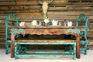 Agave Dining Table for 6 Sofia's Rustic Furniture