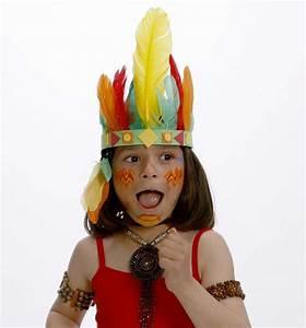 Carnaval niños: fotos maquillaje disfraz de indio (Foto 3/9) Ella Hoy