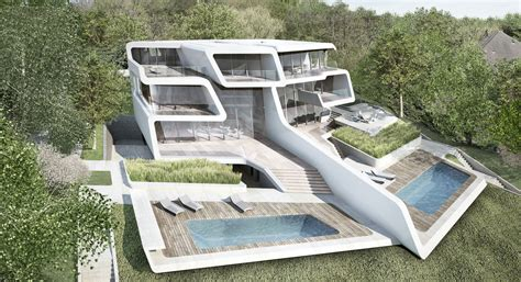 kuesnacht villa  zurich switzerland  zaha hadid architects
