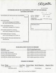 Amended Criminal Complaint In The Murder Of Emery Kauanui