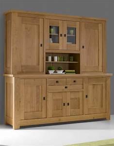 Vaisselier Chene Massif : vaisselier 2 corps alicia meubles turone ~ Teatrodelosmanantiales.com Idées de Décoration