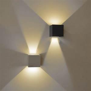 Ixa LED Wandleuchte Verstellbare Winkel Weiss 42982