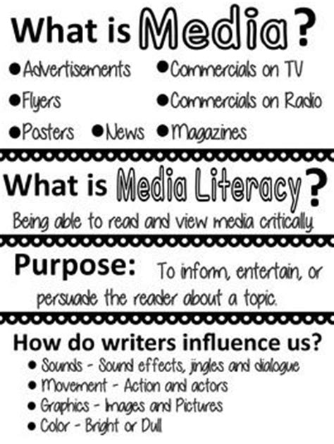 17 best images about media literacy on