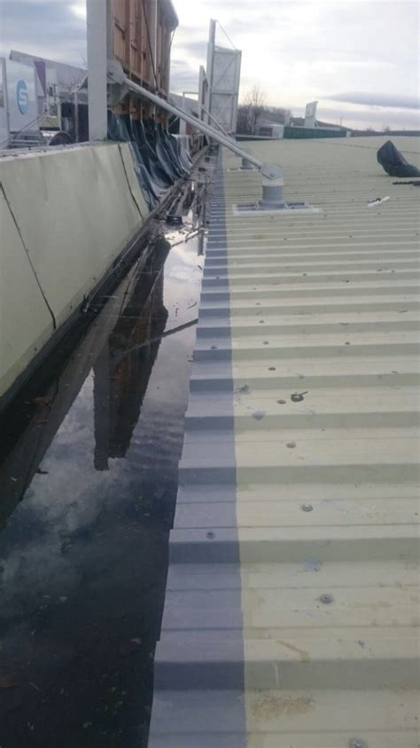 cut edge corrosion waterproofing  metal roofs