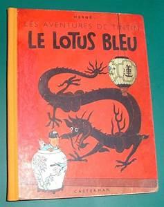 Le Lotus Bleu Levallois : tintin 5 le lotus bleu hc herdruk 1952 ~ Gottalentnigeria.com Avis de Voitures