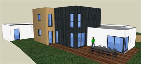 francois bureau architecte nantes construction d 39 une maison contemporaine à orvault