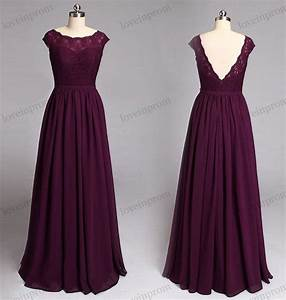 wine lace bridesmaid dress cap sleeves long chiffon With vineyard wedding dresses for guests