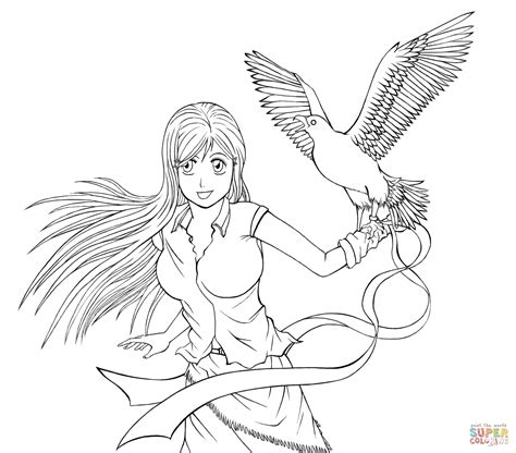 Anime Kleurplaat by Anime Coloring Pages Coloring Home
