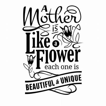 Mothers Svg Quotes Transparent Quote Dia Lovely