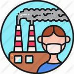Pollution Air Icon Factory Icons Mask Contamination