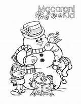 Coloring Pages Macaroni Cheese Pasta Kid Elbow Getcolorings Getdrawings Printable Snowman sketch template