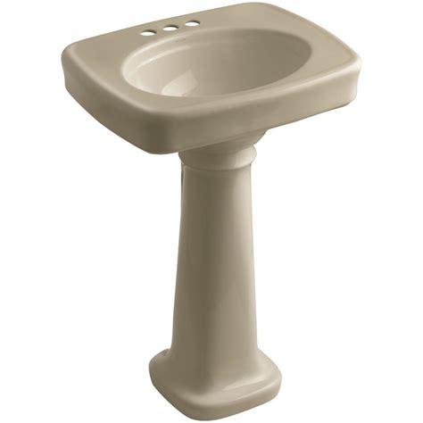 Kohler Bancroft Pedestal Sink by Kohler Bancroft Pedestal Combo Bathroom Sink In Mexican