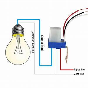Automatic Auto On Off Photocell Street Light Switch Photo