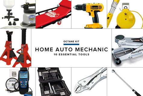 mechanical equipments list home auto tool essentials gear patrol