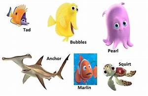 finding nemo characters - Google Search | under the sea ...