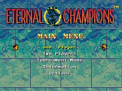 Title Games Bit Screen Eternal Champions Graphics