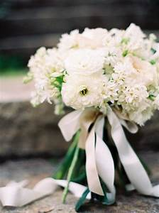 Classic White Spring Garden Bouquet - Once Wed