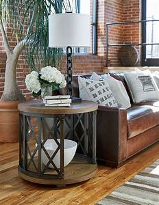 Decorating, End, Tables, Living, Room, Without, Lamps