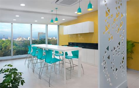 Small Modern Office Design Of Iifl Offices  Pune Zyeta