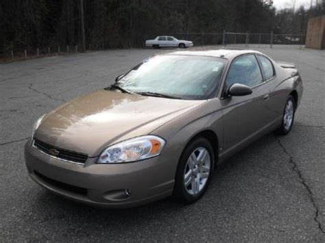 2006 Monte Carlo Lt by 2006 Chevrolet Monte Carlo Lt Data Info And Specs