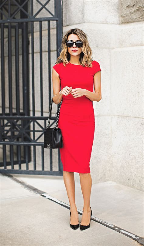 22 Red Dress Outfits That Will Make You Want To Buy One - Just The Design