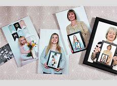 DIY Muttertagsgeschenk Mehrgenerationenbild für Mama