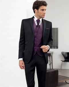Costume Pour Homme Mariage : costume homme mariage costume homme 2 boutons noir younger 150 costume pour homme costume ~ Melissatoandfro.com Idées de Décoration