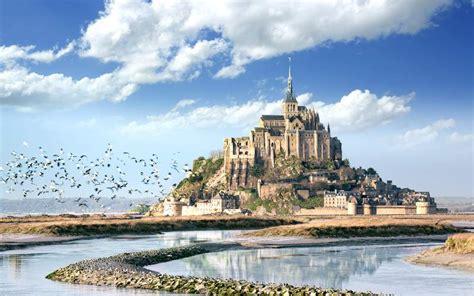 mont michel der klosterberg im meer normandie web de