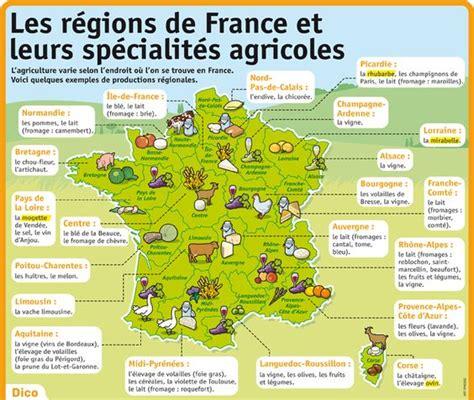 cuisine par region les régions de et leurs spécialités agricoles